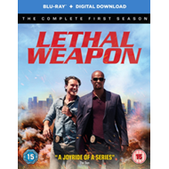 Produktbilde for Lethal Weapon: The Complete First Season (UK-import) (BLU-RAY)