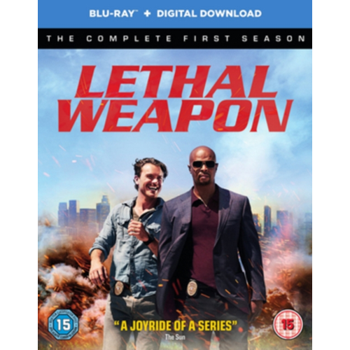 Lethal Weapon: The Complete First Season (UK-import) (BLU-RAY)
