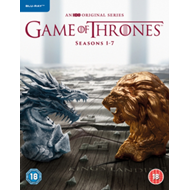 Produktbilde for Game Of Thrones: The Complete Seasons 1-7 (UK-import) (BLU-RAY)