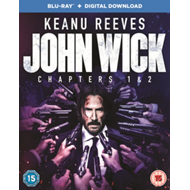 John Wick: Chapters 1 & 2 (UK-import) (BLU-RAY)