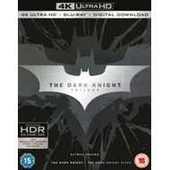 Produktbilde for The Dark Knight Trilogy (UK-import) (4K Ultra HD + Blu-ray)