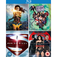 Produktbilde for DC 4-Film Collection (UK-import) (BLU-RAY)