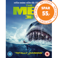 Produktbilde for The Meg (UK-import) (Blu-ray 3D + Blu-ray)