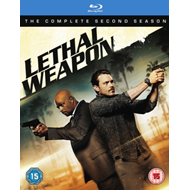 Lethal Weapon: The Complete Second Season (UK-import) (BLU-RAY)