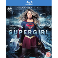 Produktbilde for Supergirl - Sesong 1-3 (UK-import) (BLU-RAY)