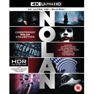 Christopher Nolan Collection (UK-import) (BLU-RAY)