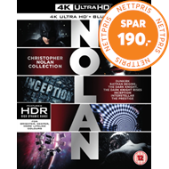 Produktbilde for Christopher Nolan Collection (UK-import) (4K Ultra HD + Blu-ray)