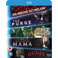 Produktbilde for Mama/The Purge/The Purge: Anarchy/Ouija/As Above, So Below (UK-import) (BLU-RAY)