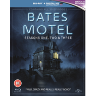 Produktbilde for Bates Motel: Seasons One, Two & Three (UK-import) (BLU-RAY)