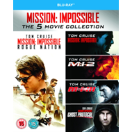 Produktbilde for Mission: Impossible 1-5 (UK-import) (BLU-RAY)