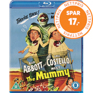 Produktbilde for Abbott And Costello Meet The Mummy (UK-import) (BLU-RAY)