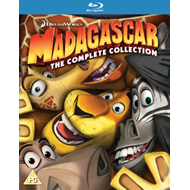 Produktbilde for Madagascar: The Complete Collection (UK-import) (BLU-RAY)
