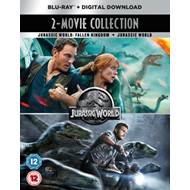 Jurassic World/Jurassic World - Fallen Kingdom (UK-import) (BLU-RAY)