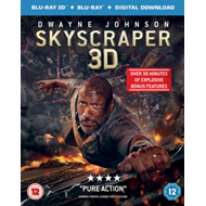 Produktbilde for Skyscraper (UK-import) (Blu-ray 3D + Blu-ray)