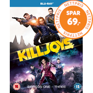 Produktbilde for Killjoys - Sesong 1-3 (UK-import) (BLU-RAY)