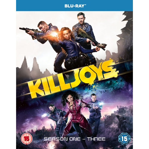Killjoys: Seasons 1-3 (UK-import) (BLU-RAY)