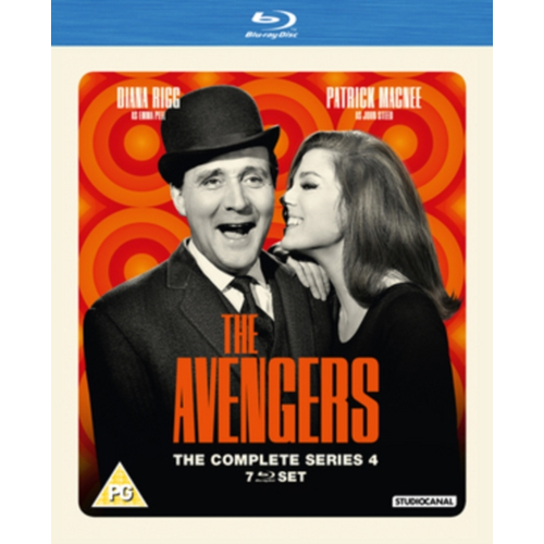 The Avengers: The Complete Series 4 (UK-import) (BLU-RAY)