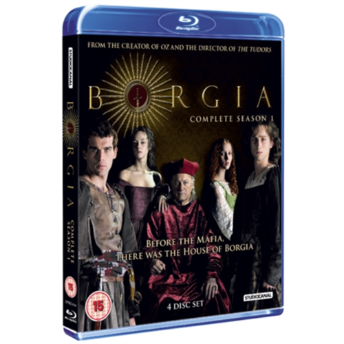 Borgia: Complete Season 1 (UK-import) (BLU-RAY)