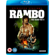 Produktbilde for Rambo - First Blood: Part II (UK-import) (BLU-RAY)