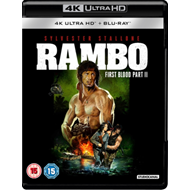 Produktbilde for Rambo - First Blood: Part II (UK-import) (4K Ultra HD + Blu-ray)