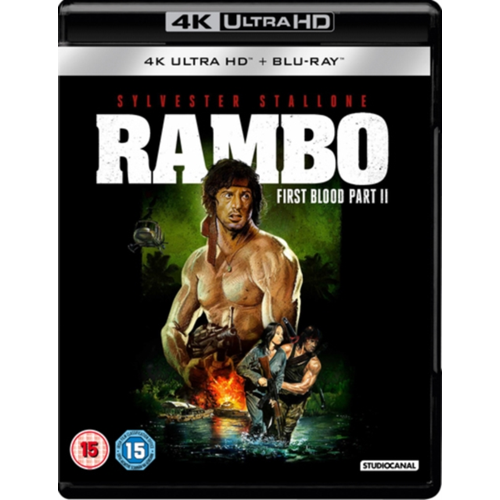Rambo - First Blood: Part II (UK-import) (BLU-RAY)