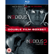 Produktbilde for Insidious/Insidious - Chapter 2 (UK-import) (BLU-RAY)