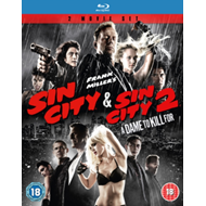 Produktbilde for Sin City/Sin City 2 - A Dame To Kill For (UK-import) (BLU-RAY)