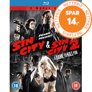 Sin City/Sin City 2 - A Dame To Kill For (UK-import) (BLU-RAY)