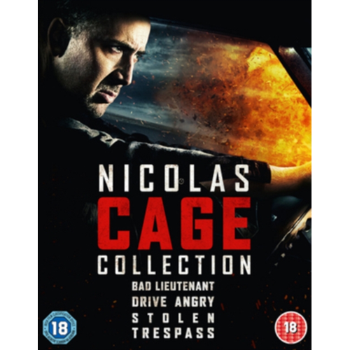 Nicolas Cage Collection (UK-import) (BLU-RAY)
