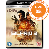 Sicario 2 - Soldado (UK-import) (4K Ultra HD + Blu-ray)
