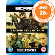 Sicario/Sicario 2 - Soldado (UK-import) (BLU-RAY)