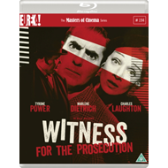Produktbilde for Witness For The Prosecution - The Masters Of Cinema Series (UK-import) (BLU-RAY)