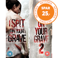 Produktbilde for I Spit On Your Grave/I Spit On Your Grave 2 (UK-import) (BLU-RAY)