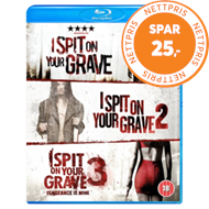 Produktbilde for I Spit On Your Grave/I Spit On Your Grave 2/I Spit On Your Grave3 (UK-import) (BLU-RAY)