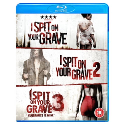 I Spit On Your Grave/I Spit On Your Grave 2/I Spit On Your Grave3 (UK-import) (BLU-RAY)