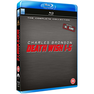 Death Wish 1-5 (UK-import) (BLU-RAY)