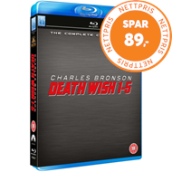 Produktbilde for Death Wish 1-5 (UK-import) (BLU-RAY)