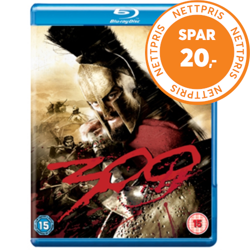300 (UK-import) (BLU-RAY)