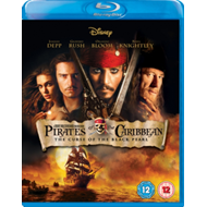 Produktbilde for Pirates Of The Caribbean: The Curse Of The Black Pearl (UK-import) (BLU-RAY)