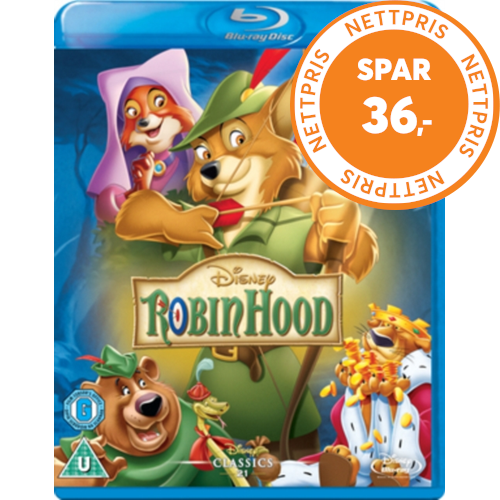 Robin Hood (Disney) (UK-import) (BLU-RAY)