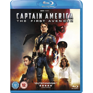 Produktbilde for Captain America: The First Avenger (UK-import) (BLU-RAY)