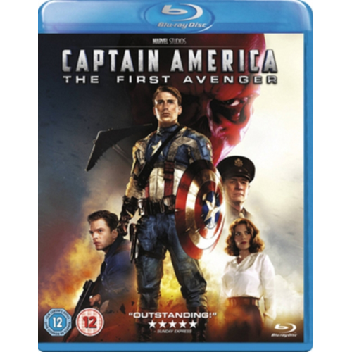 Captain America: The First Avenger (UK-import) (BLU-RAY)