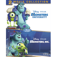 Monsters, Inc./Monsters University (UK-import) (BLU-RAY)