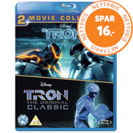 Produktbilde for Tron/TRON: Legacy (UK-import) (BLU-RAY)