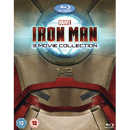 Produktbilde for Iron Man 1-3 (UK-import) (BLU-RAY)
