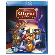 Produktbilde for Oliver And Company (UK-import) (BLU-RAY)
