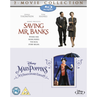 Produktbilde for Saving Mr. Banks/Mary Poppins (UK-import) (BLU-RAY)