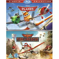 Planes/Planes: Fire And Rescue (UK-import) (BLU-RAY)