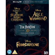 Produktbilde for Tim Burton Collection (UK-import) (Blu-ray 3D + Blu-ray)