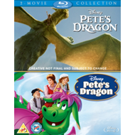 Pete's Dragon: 2-Movie Collection (UK-import) (BLU-RAY)